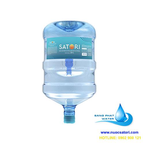 Nước tinh khiết satori bình 20l