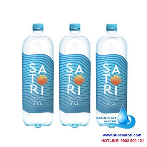 Nước tinh khiết satori 1500ml