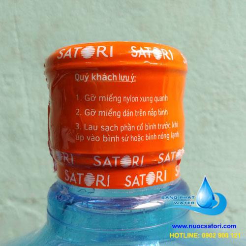 Nước tinh khiết satori 20l