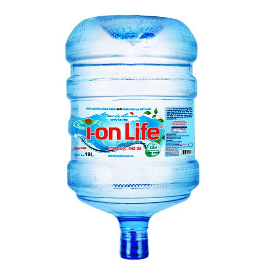 Hình ảnh bình nước ion life 19l