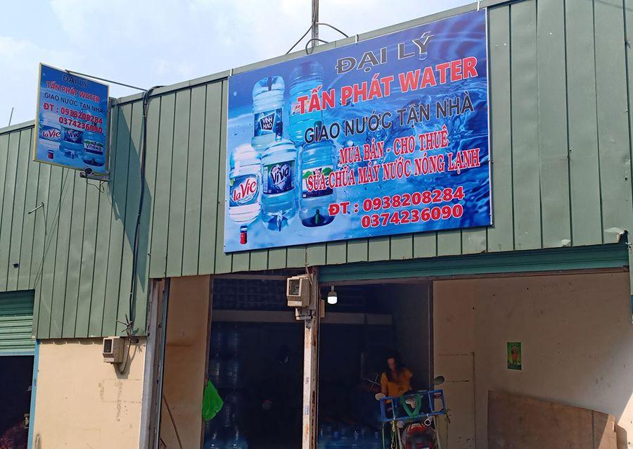 Đại lý giao nước uống đóng bình quận 12 tại Tấn Phát Water